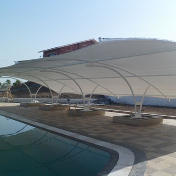 Swimming Pool Tensile Structure Manufacturer