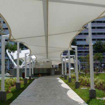Walkway Covering Structure Manufacturer